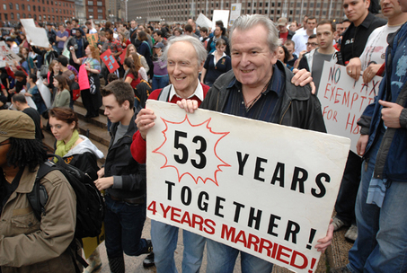 Gay Marriage Protests